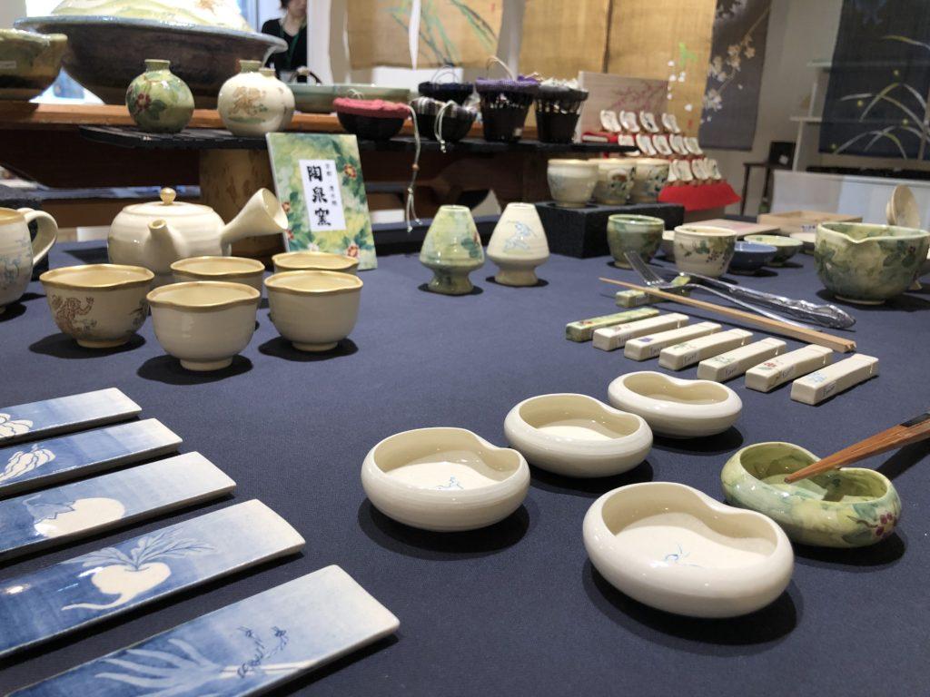 清水焼の陶泉窯さん